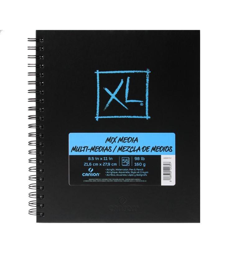 """XL Mix Media Book, 8.5"""" x 11"""""""
