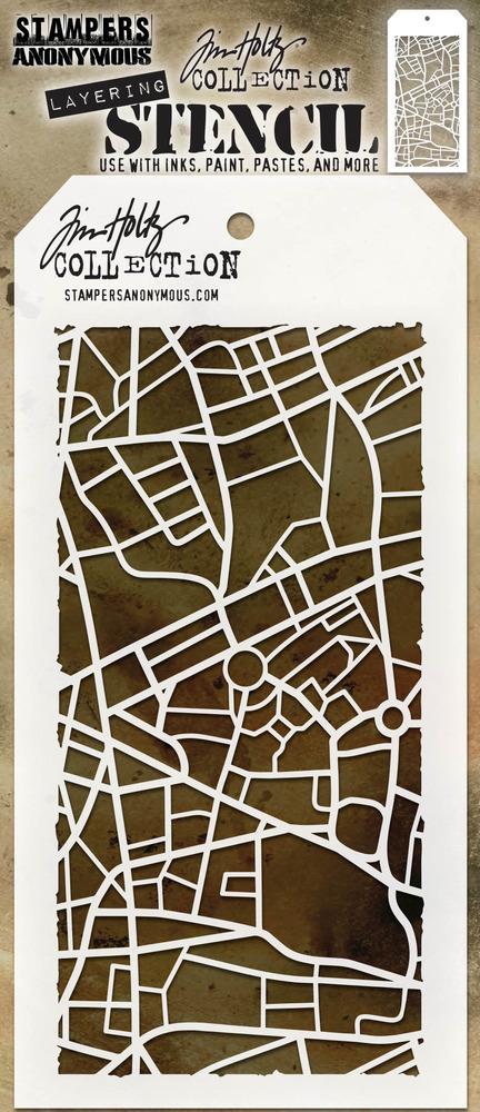 Layering Stencil, Metropolis