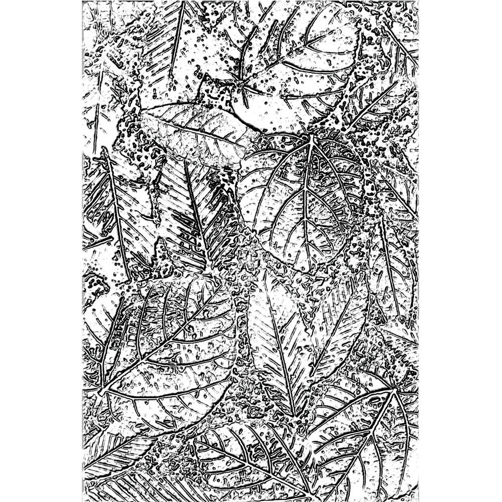 3D Texture Fades Embossing Folder, Foliage