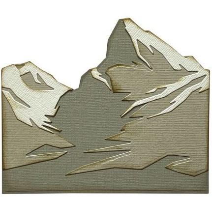 Thinlits Die Set, Mountain Top (6pk)