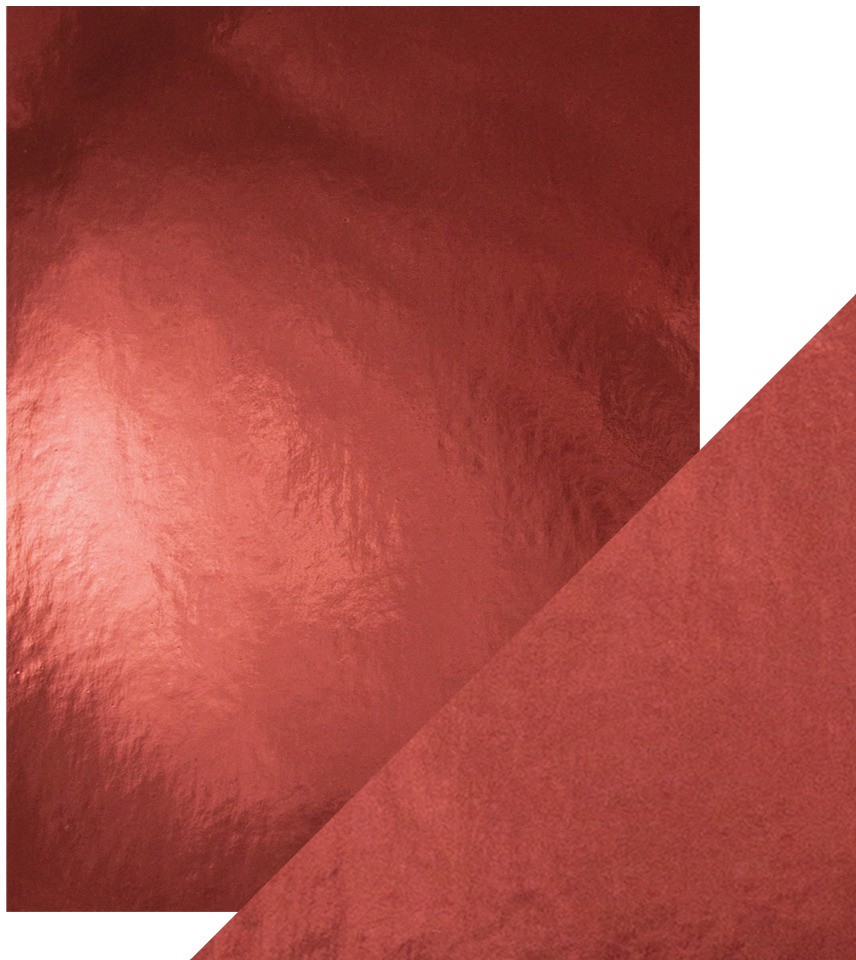 8.5X11 Mirror Cardstock, Gloss - Opera Red (5/Pk)