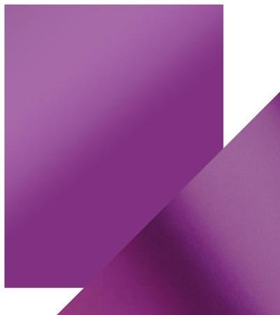 8.5X11 Mirror Cardstock, Satin - Purple Mist (5/Pk)