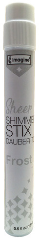 Sheer Shimmer Stix Dauber Top, Frost