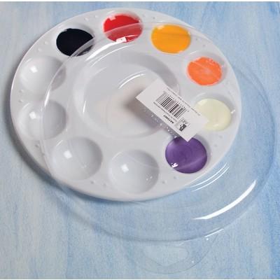 Plastic Palette Lid, 10 Well Round