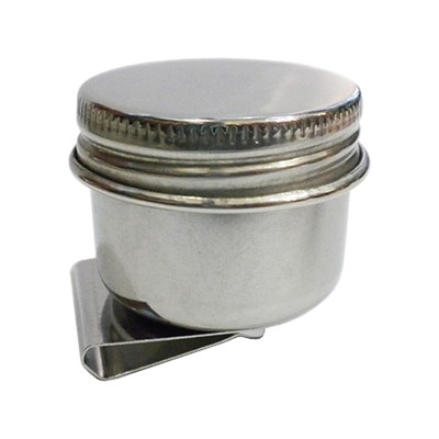 Palette Cup, Stainless Steel With Lid