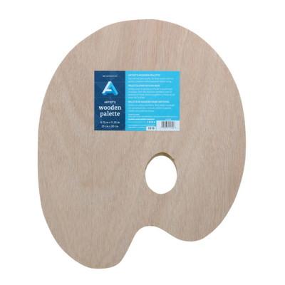 "Palette, Artist's Wooden - Oval 15.75"" x 19.5"""