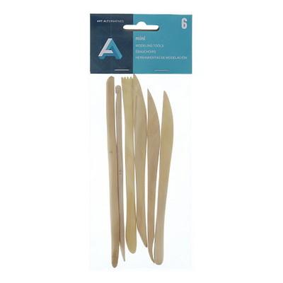 Miniature Boxwood Modeling Tools (6pc)