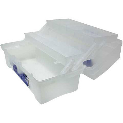"""Artist 2 Tray Toolbox, 14"""" Clear"""