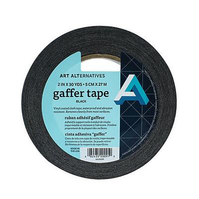 """Gaffer Tape, 2"""" x 30 yds Black"""
