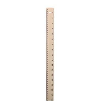 "Wooden Ruler, 36"""