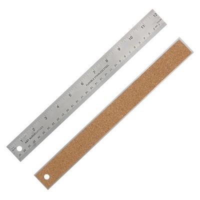 """Flexible Stainless Steel Ruler, 12"""""""