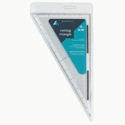 "Acrylic Cutting Edge Triangle, 10"" 60 Deg"