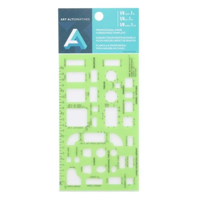 """Professional Home Furnishings Template, 1/8"""""""