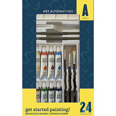 Get Started Acrylic Paint Set (24pc)