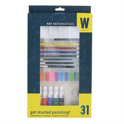 Get Started Watercolor Paint Set (31pc)