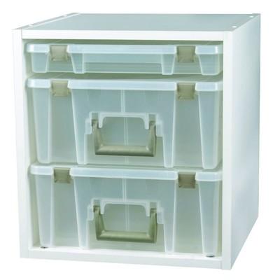 Box, Super Satchel Cube White