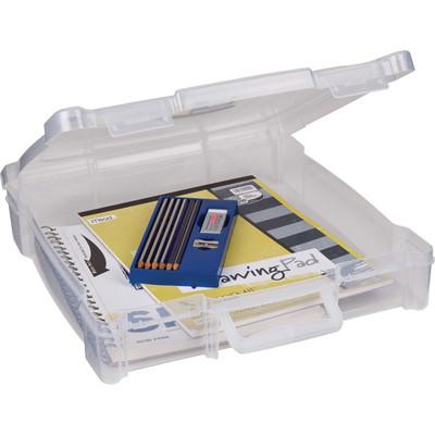 Box, Essentials 12 X 12 w/Handle - Clear