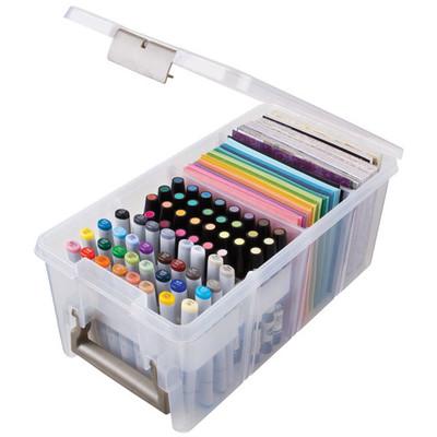Box, Marker Storage Satchel - Clear