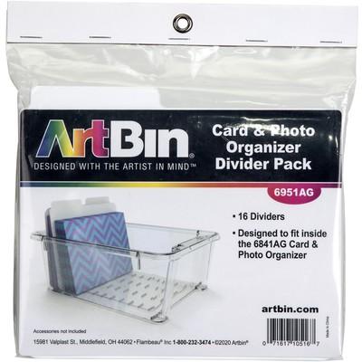 Card & Photo Organizer Box Divider Pack