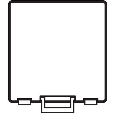 Compartments, Super Satchel - 1 Compartment - Clear