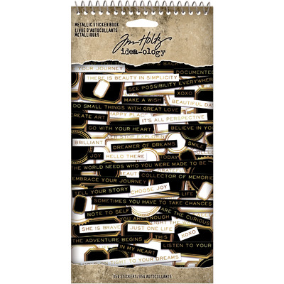 Metallic Sticker Book (2021)