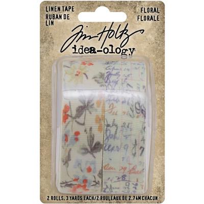Linen Tape, Floral (2021)