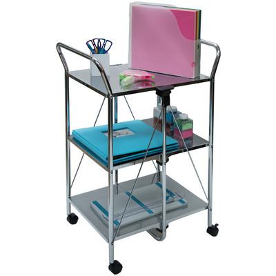 Click-N-Fold Cart, Chrome