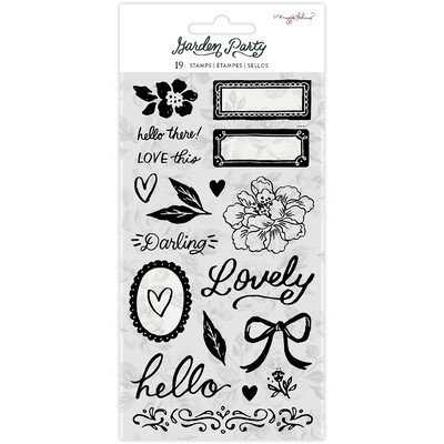 Clear Stamp, Garden Party