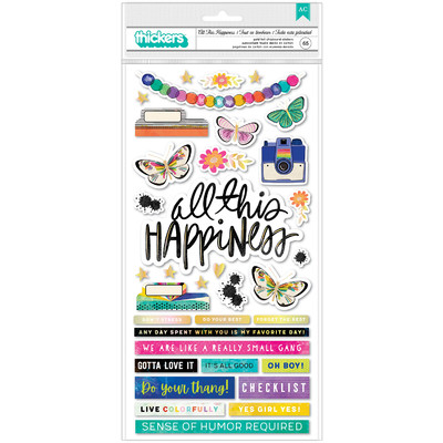 Thickers, Phrase - Color Study - All This Happiness