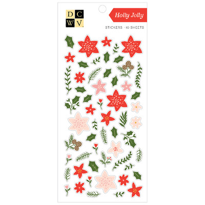 Stickers, Holly Jolly