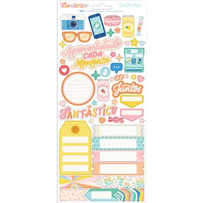 Cardstock Stickers, Fantastico