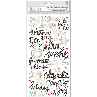 Thickers, Phrases - Warm Wishes