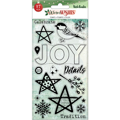 Clear Stamp, Warm Wishes
