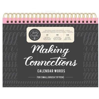 Kelly Creates Connections Workbook, Small Brush - Calendar