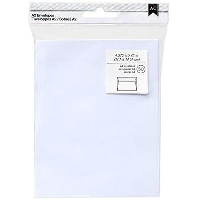 Envelopes, A2 - White (50pc)