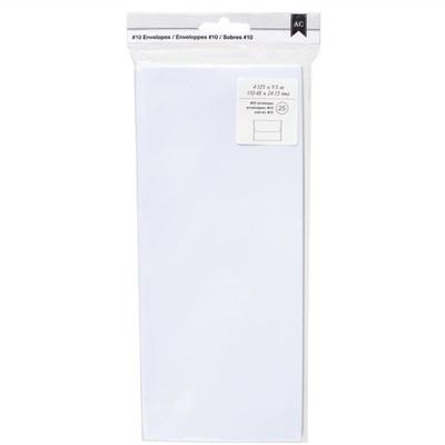Envelopes, #10 - White (25pc)