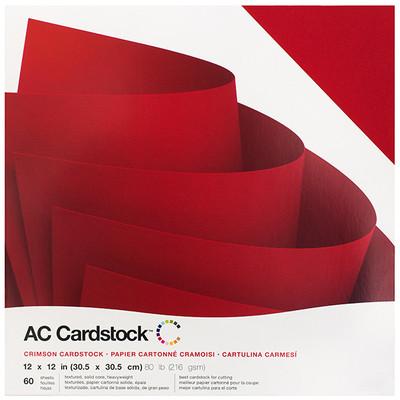 12X12 Variety Pack, Crimson (60 Piece)