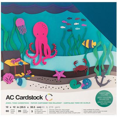 12X12 Cardstock Variety Pack (60pk), Jewel
