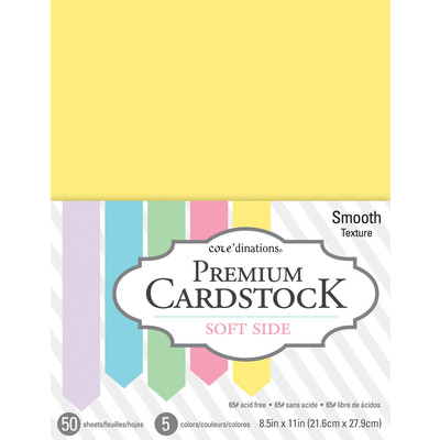 8.5X11 Value Pack, Soft Side - 50 Sheets