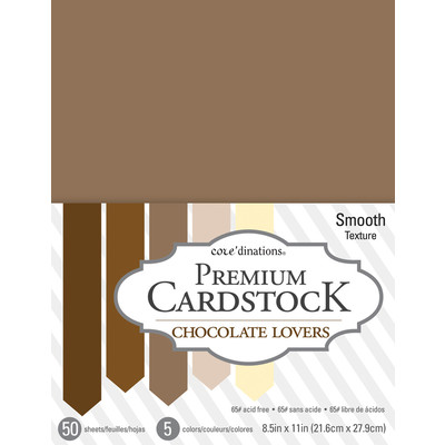 8.5X11 Value Pack, Chocolate Lovers - 50 Sheets
