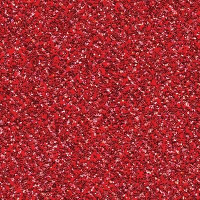 12X12 Glitter Silk Cardstock - Red Flash