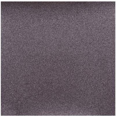 12X12 Glitter Silk Cardstock, Black Prince