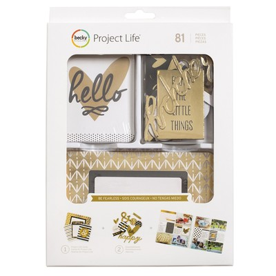 Value Kit, Be Fearless - Gold Foil (81 Piece)