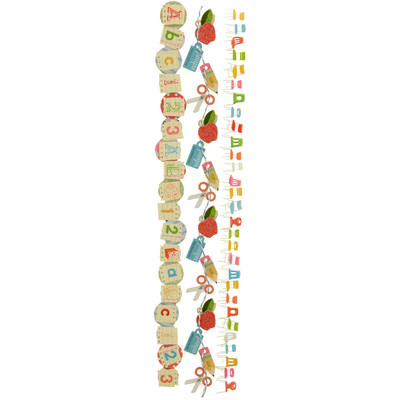Dimensional Stickers, Border - Back To School