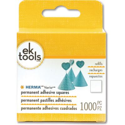 Herma Vario Permanent Adhesive Squares Refill