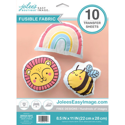 Easy Image Transfer Paper, Fusible Fabric - Light (10 Sheets)