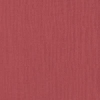 12X12 Textured Cardstock, Cranberry