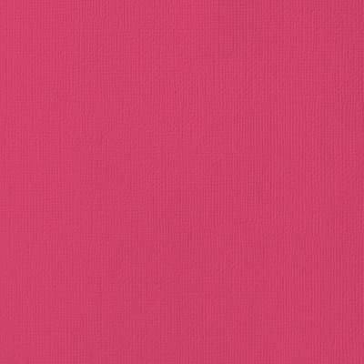 12X12 Textured Cardstock, Rouge