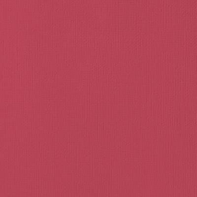 12X12 Textured Cardstock, Crimson