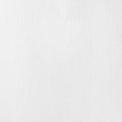12X12 Textured Cardstock, White
